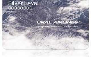 Личный кабинет Уральских авиалиний — доступ к программе «Крылья»