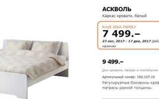 Рассрочка без переплат с финансовой картой IKEA Family