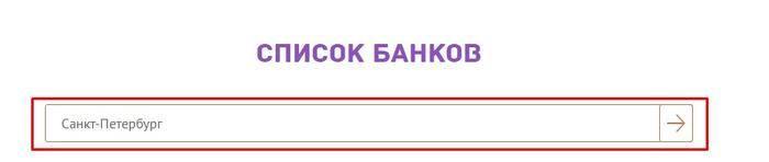 Список банков