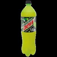Напиток безалкогольный MOUNTAIN DEW ароматизир. сильногаз. ПЭТ (Россия) 1.5L