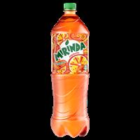 Напиток безалкогольный MIRINDA Refreshing освеж. вкус апельсина сильногаз. ПЭТ (Россия) 1.5L